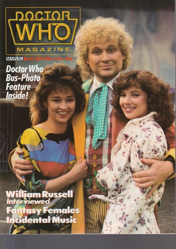 Doctor Who Fan Magazine #115