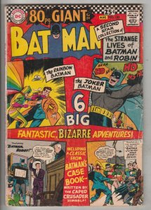 Batman #182 (Aug-66) VG- Affordable-Grade Batman
