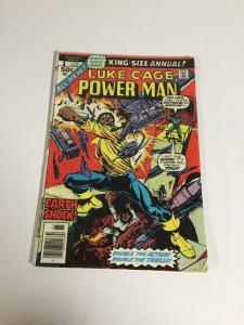 Power Man Annual 1 Vg+ Very Good+ 4.5 Marvel Comics Luke Cage