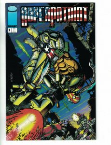 Superpatriot #1 VF signed by Keith Giffen - Image Comics