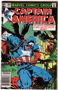 Captain America   vol. 1   #280 VG