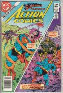 Action Comics #537 (Nov-82) NM- High-Grade Superman