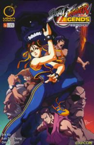 Street Fighter Legends: Chun-Li #1B VF; Udon | save on shipping - details inside