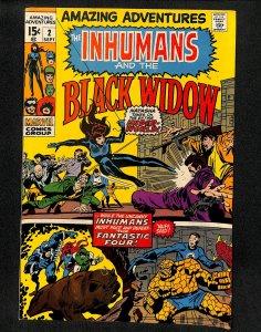 Amazing Adventures #2 Black Widow Inhumans!