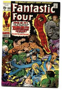 FANTASTIC FOUR #100 1970- THE THING JACK KIRBY MARVEL VF