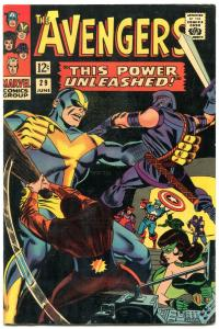 The Avengers #29 1966- This Power Unleashed VF-