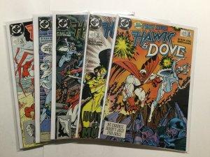 Hawk And Dove 1-5 1 2 3 4 5 Lot Set Run Near Mint Nm Dc Comics