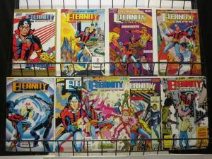 ETERNITY SMITH (1987 HERO) 1-9  Complete Series!
