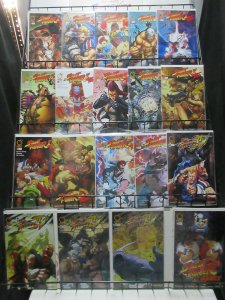 Street Fighter Udon Lot of 19 Issues Turbo, IV, Remix Super Action!!