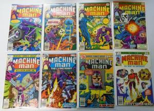 Machine Man (1st Series) Lot:#2-19, 15 Different, Average 6.0 (1978-1981)