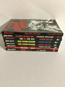 Sin City Complete TPB Lot First Print With Yellow Bastard Variant Dark Horse sc