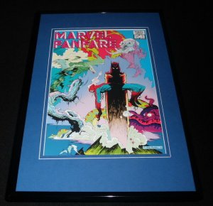 Marvel Fanfare #6 Framed 11x17 Cover Display Official Repro Spider-Man