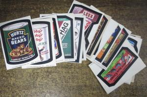 TOPPS WACKY PACKAGES-- 7th SERIES, COMPLETE! 17 Doubles! Spiegelman art!
