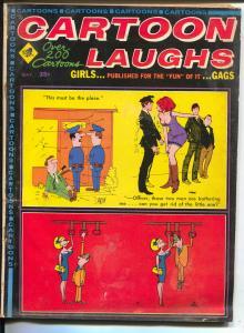 Cartoon Laughs 5/1968-Marvel-Jokes-cartoons-Trogdon-cheesecake-deCarlo-VG