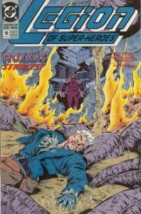 Legion of Super-Heroes (1989 series) #10, NM- (Stock photo)