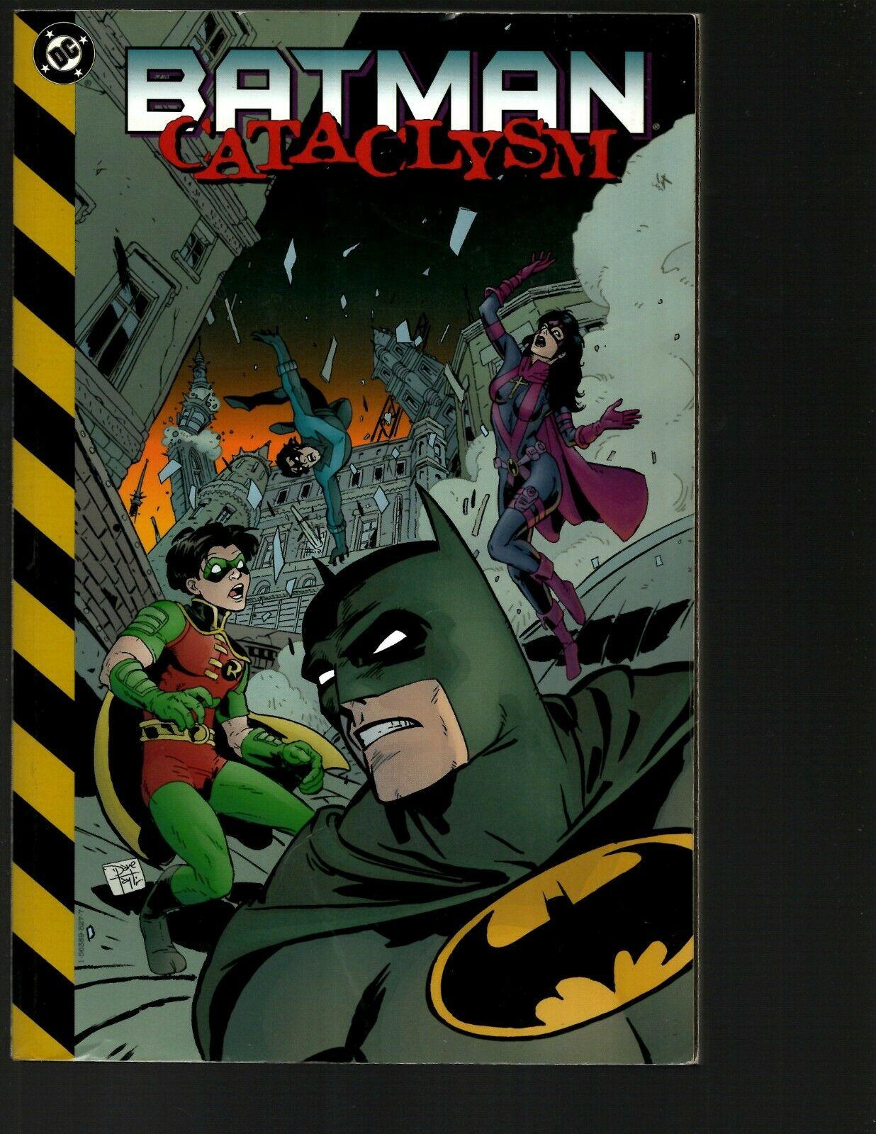 Batman Cataclysm TPB