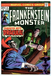 Frankenstein 8 Jan 1974 VF+ (8.5)