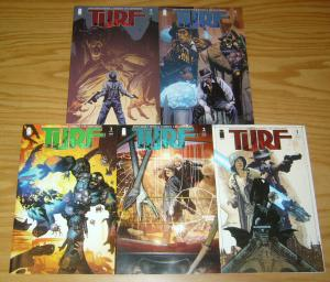Turf #1-5 VF/NM complete series JONATHAN ROSS tommy lee edwards bootleggers