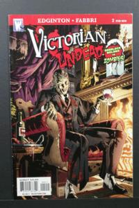 Victorian Undead Sherlock Holmes vs Zombies #2 February 2010