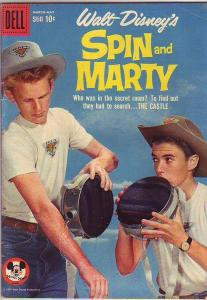 Spin and Marty, Walt Disney's #9 (Mar-59) FN+ Mid-Grade Spin and Marty