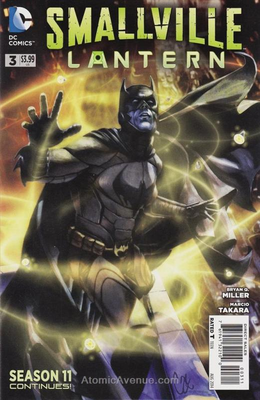 Smallville: Lantern #3 VF/NM DC - save on shipping - details inside