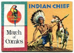 March of Comics #140 1956-Indian Chief- Poll Parrot promo comic
