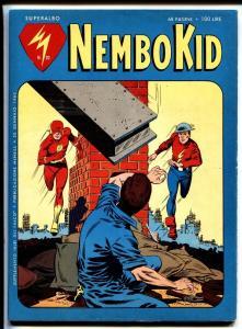 Flash #123 Nembo Kid Italian version comic book 1962 Earth II Silver-Age DC