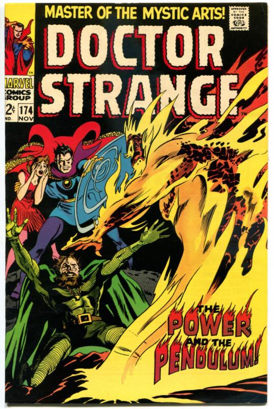 DOCTOR STRANGE #174, VF, Mystic Arts, Gene Colan, 1968, more DS in store, Glossy