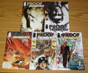 Proof: Endangered #1-5 VF/NM complete series - image comics - bigfoot set 2 3 4