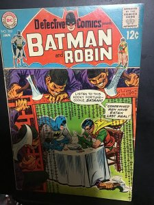 Detective Comics #383 (1969) Elongated Man mid-high-grade key! FN/VF Wow