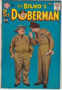 Sgt. Bilko's Pvt. Doberman #6 (May-59) GD/VG Affordable-Grade Sgt. Bilko