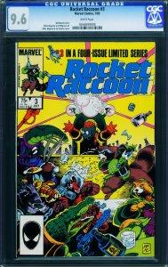 ROCKET RACCOON #3 CGC 9.6-comic book-GOTG 0264699008