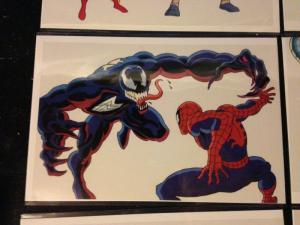 Marvel Sipder-man Venom Promo Animation Cel