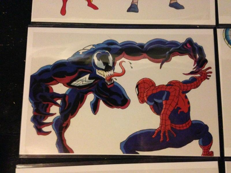 Marvel Sipder-man Venom Promo Animation Cel