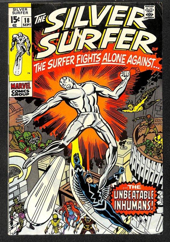 Silver Surfer #18 VG/FN 5.0 Marvel Comics