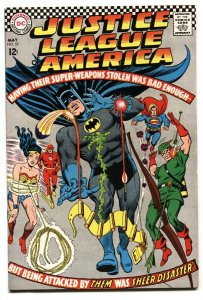 JUSTICE LEAGUE OF AMERICA #53 comic book 1967 DC JSA JLA High Grade