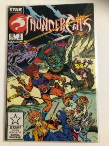 THUNDER CATS #2 1985 STAR COMICS / NEVER READ /  NM