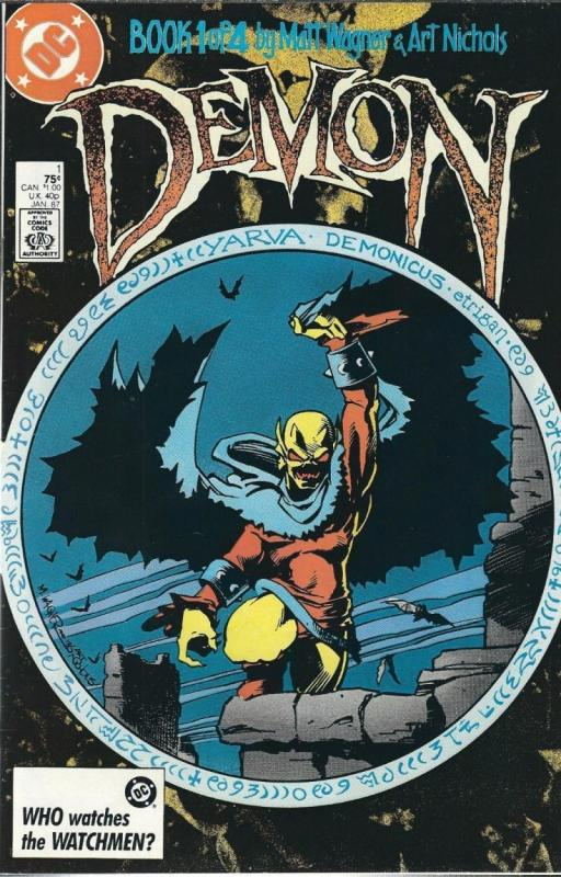 DEMON #1, VF/NM, Matt Wagner, DC, 1987 more DC in store