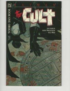 BATMAN THE CULT 1-4 Complete Set (1988) STARLIN Bernie Wrightson NM 9.4 Unread