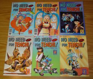 No Need For Tenchi part 3 #1-6 VF/NM complete series - viz manga - hitoshi okuda