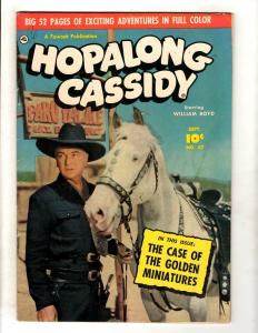 Hopalong Cassidy # 47 FN Fawcett Golden Age Comic Book William Boyd Cowboy JL16