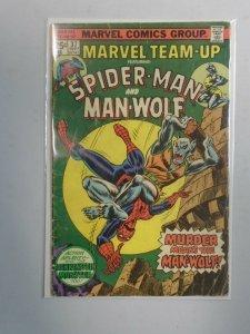 Marvel Team-Up #37 Spider-Man and Man-Wolf 3.0 GD VG (1975 1st Series)