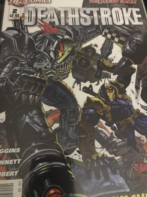 DC Deathstroke #2 Mint The New 52 Hot
