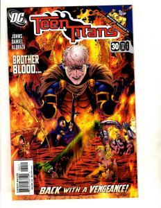 Lot Of 10 Teen Titans DC Comic Books # 30 31 56 57 60 61 62 63 64 65 Robin J329