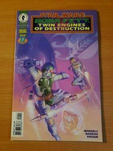 Star Wars Boba Fett Twin Engines of Destruction ~ NEAR MINT NM ~ 1997 Dark Horse