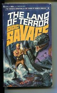 DOC SAVAGE-THE LAND OF TERROR-#8-ROBESON-VG-COVER DOUG ROSA VG