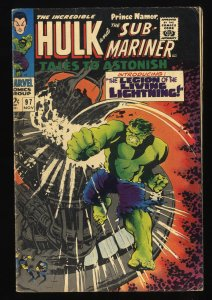 Tales To Astonish #97 VG+ 4.5 giant ant man hulk