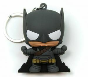Batman v Superman BVS Armored Batman Laser Cut Key Ring / Keychain - New!