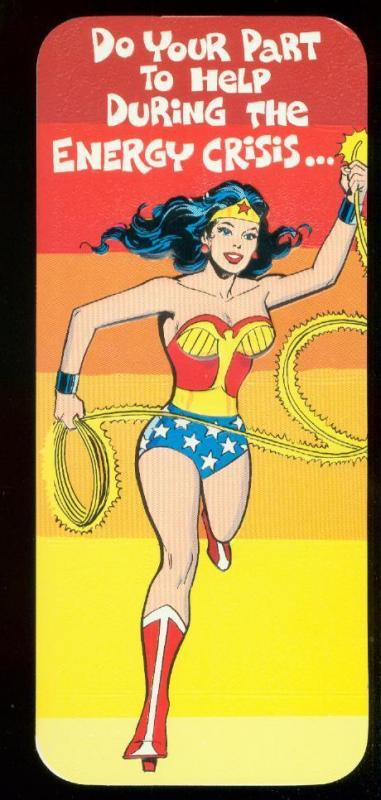 NEAL ADAMS WONDER WOMAN ROMANTIC CARD #35 1978 NM