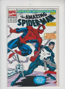 AMAZING SPIDER-MAN #358 1991 MARVEL / UNREAD / VF +/